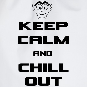 keep_calm_and_chill_out Taschen & Rucksäcke - Turnbeutel