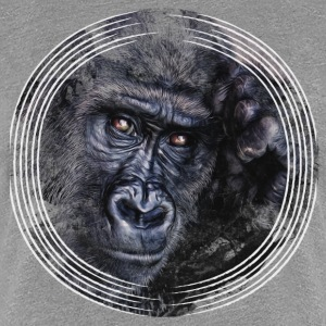 Gorilla Artwork - Frauen Premium T-Shirt
