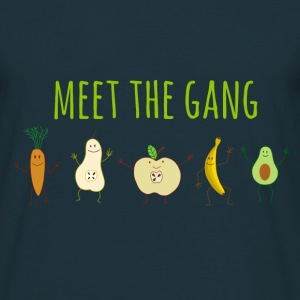 meet the gang T-Shirts - Männer T-Shirt