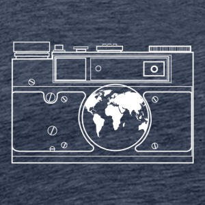 The world through the lens. - Men's Premium T-Shirt