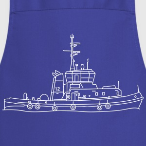 Tug or towing boat  Aprons - Cooking Apron