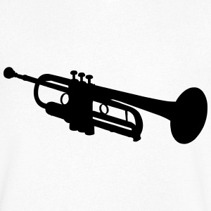 Trumpet T-Shirts - Men's V-Neck T-Shirt