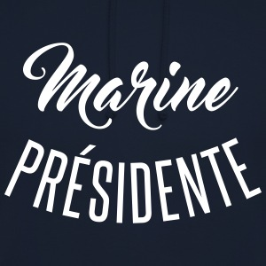 Marine présidente Sweat-shirts - Sweat-shirt à capuche unisexe