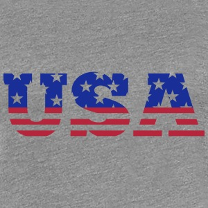 USA - Stars & Stripes T-shirts - Premium-T-shirt dam