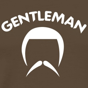 GENTLEMAN 4 white - Men's Premium T-Shirt