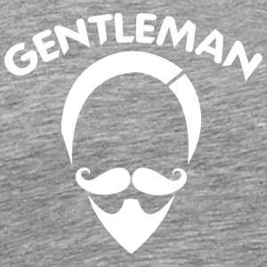 GENTLEMAN 6 white - Men's Premium T-Shirt
