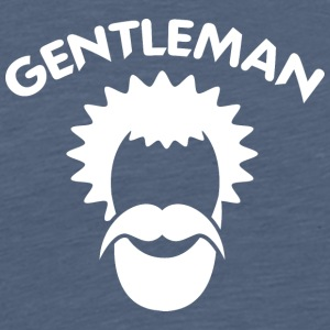 GENTLEMAN 8 white - Men's Premium T-Shirt