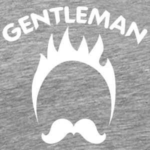 GENTLEMAN white - Men's Premium T-Shirt