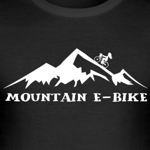 Berg E-BIKE T-Shirts - Männer Slim Fit T-Shirt