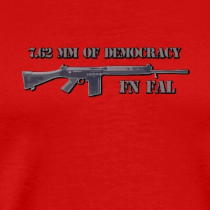 fn fal fan t shirt 7.62 mm of democracy - Men's Premium T-Shirt