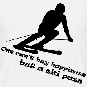Ski Happiness T-Shirts - Männer T-Shirt