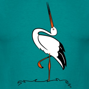 Stork nest T-Shirts - Men's T-Shirt