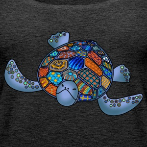 Sea turtle top for women - Women's Premium Tank Top