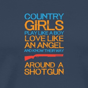 Country girls 01 - Men's Premium T-Shirt