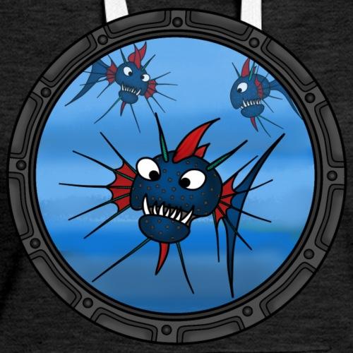 Spiky fish porthole