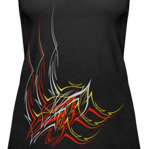 Abstrakt 4 - Frauen Premium Tank Top