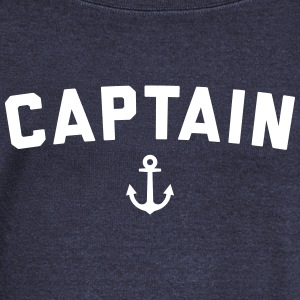 Captain Nautical Quote  Hoodies & Sweatshirts - Women's Boat Neck Long Sleeve Top