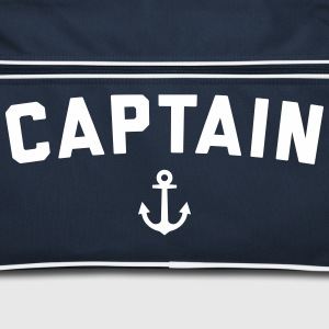 Captain Nautical Quote  Bags & Backpacks - Retro Bag
