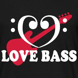 bass love Tee shirts - T-shirt Homme