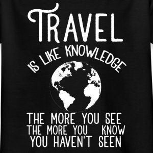 Travel vacation Shirts - Kids' T-Shirt
