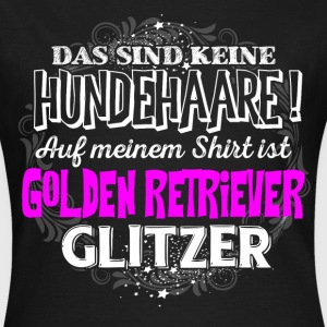 Golden Retriever - Glitzer  - Frauen T-Shirt