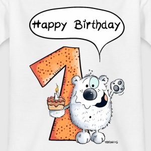 Happy Birthday Bär T-Shirts - Teenager T-Shirt