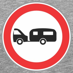 Road sign trailer - Men's Premium T-Shirt