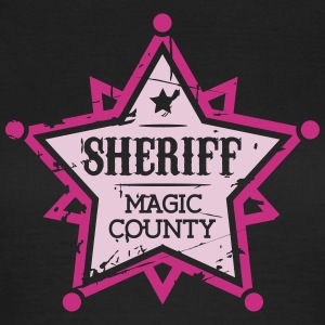 Sheriff T-Shirts - Frauen T-Shirt