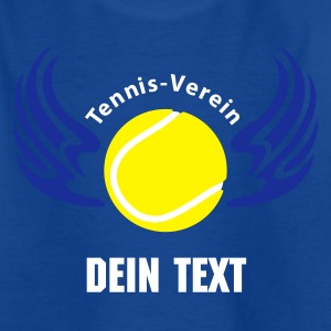 Royalblau tennisverein_3c Kinder T-Shirts - Teenager T-Shirt