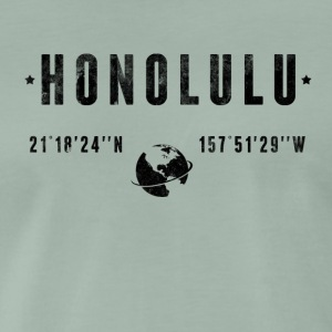 Honolulu T-shirts - Herre premium T-shirt