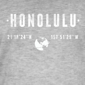 Honolulu  T-Shirts - Men's Vintage T-Shirt