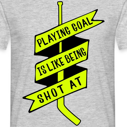 Playing Goal is Like Being Shot At