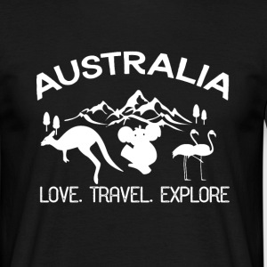 Backpacker Travel Tee shirts - T-shirt Homme
