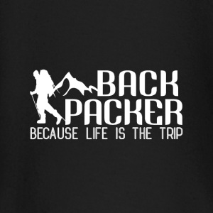 Backpacker Travel Baby Long Sleeve Shirts - Baby Long Sleeve T-Shirt
