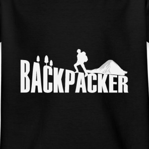 Backpacker Travel Shirts - Kinderen T-shirt