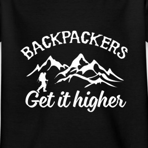 Backpacker Travel Camisetas - Camiseta niño
