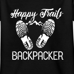 Backpacker Travel Tee shirts - T-shirt Enfant