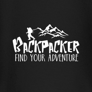 Backpacker Travel baby shirts met lange mouwen - T-shirt
