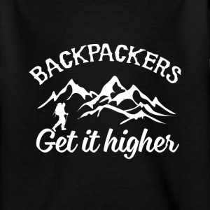 Backpacker Travel T-shirts - Teenager-T-shirt