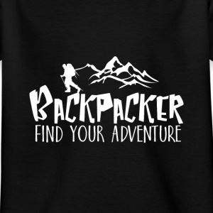 Backpacker Travel T-Shirts - Kinder T-Shirt