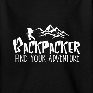 Backpacker Travel Camisetas - Camiseta adolescente