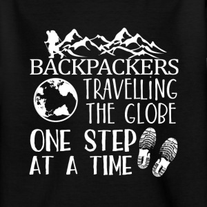 Backpacker Travel Tee shirts - T-shirt Ado