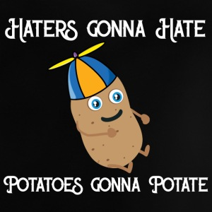 Haters gonna Hate Potatoes gonna potate Babytröjor - Baby-T-shirt