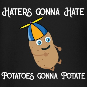 Haters gonna Hate Potatoes gonna potate Maglietta a maniche lunghe per neonati - Maglietta a manica lunga per bambini