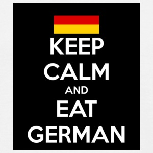 Keep Calm and Eat German - Männer T-Shirt