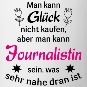 Cooles Design für jede Journalistin! - Tasse