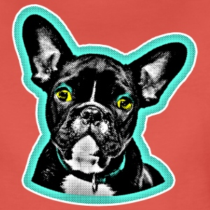 MOPS POP ART T-shirts - Vrouwen Premium T-shirt