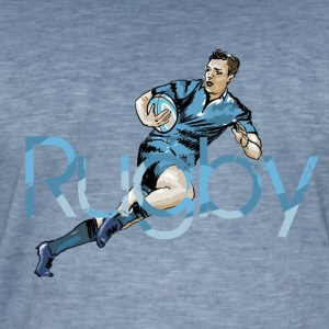 Rugby Tee shirts - T-shirt vintage Homme