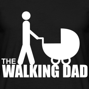 The walking dad,cadeau père,papa,zombie - T-shirt Homme