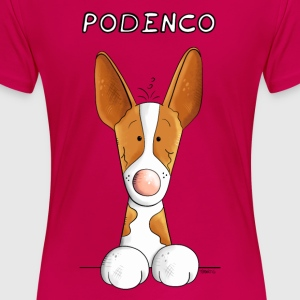 Happy Podenco Canario T-Shirts - Women's Premium T-Shirt